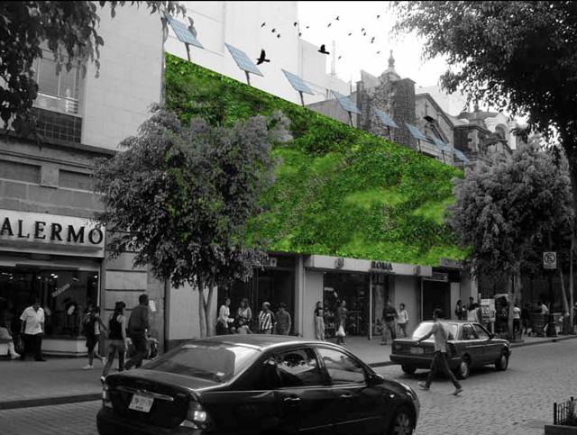 Verdf jardines verticales verdmx for Historia de los jardines verticales